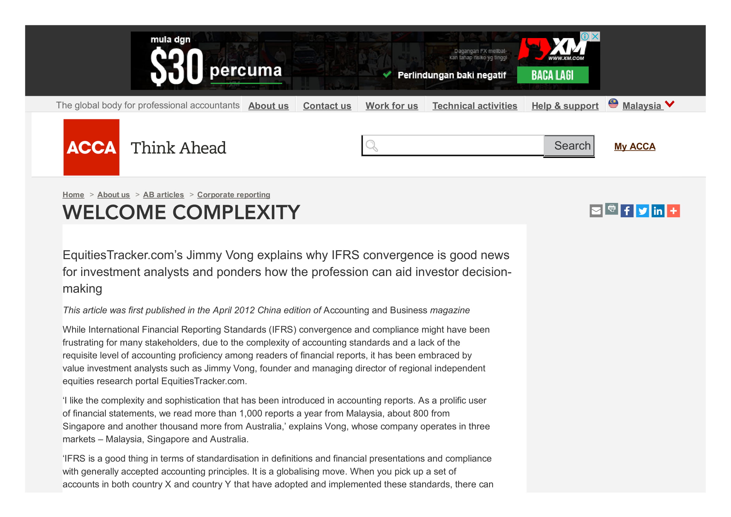 Media Coverage Welcome complexity   ACCA Global Jim Vong.pdf 3RD APRIL 2014 1